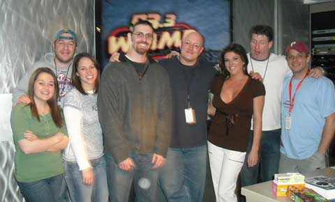 Lori and Jason from Kimmel & Silverman on the Preston and Steve show on 93.3 WMMR