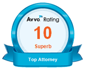 AVVO Superb Rating | Top Attorney