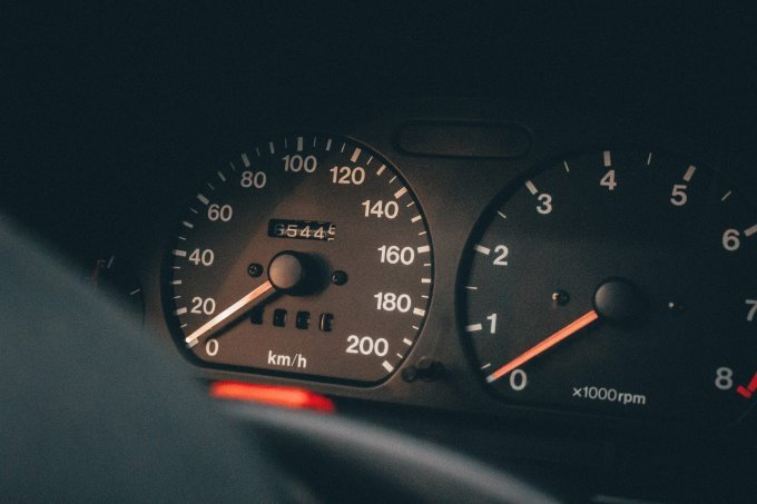 Mileage on a New Jersey automobile