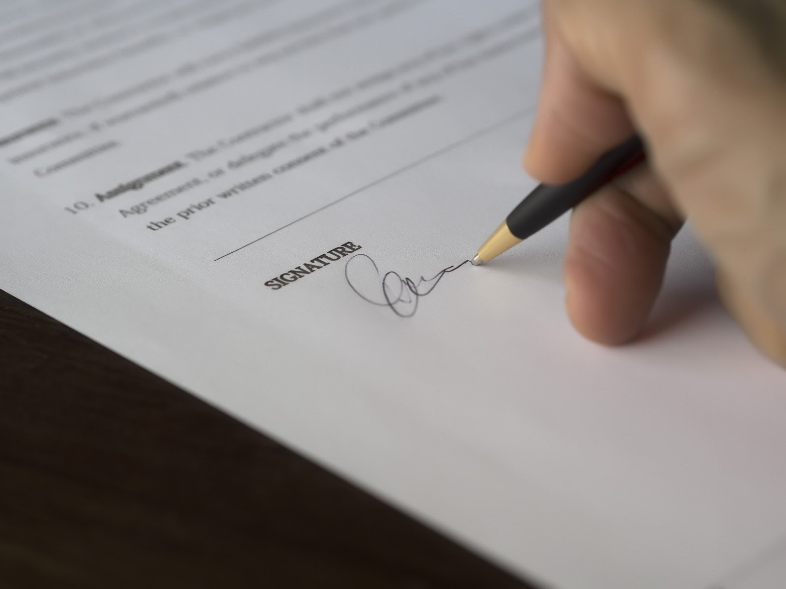 Signing up with an attorney in NJ